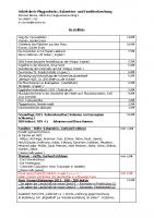 Bücherliste – Stand 08.01.2014